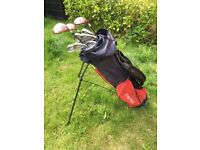 Set of Golf Clubs and Ping Bag