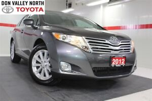 2012 Toyota Venza AWD Sunroof Btooth BU Camera Leather Seats