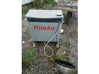Rite air green house heater with thermostat