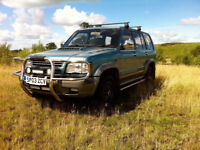isuzu trooper, manual 3.0l diesel