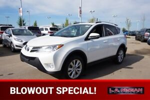 2013 Toyota RAV4 AWD LIMITED Accident Free,  Navigation (GPS),