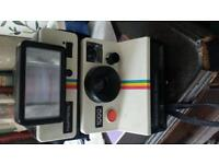 Original 1970s Polaroid 1000 Camera with flash. Full working order.