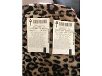 2 Legoland tickets