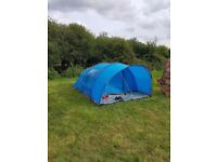 Vango aura 400 4 man tent and ground sheet. Only used this week for 5 days. Perfect condition.