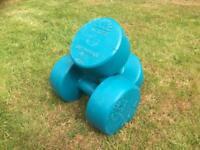 WEIDER Olympian hand weights 5kg
