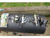 Maxximus Avon Rod, Keep Net, 5 fishing reels, flies