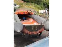 Inflatable rib boat project