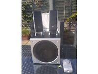 Logitech Z3 speaker system for pc tv home music setup