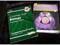 Biology A level books