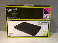 GELERT Flock Double Airbed - inflatable mattress ideal for camping