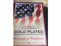 Limited Addition Presidential Coins