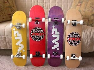 """NEW"" Complete Skateboards - DNA, FKD , Welfare etc.. Visa, M/C"