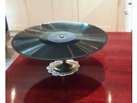 LP record cake / display stand.