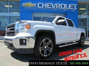 2015 GMC SIERRA 1500 4WD CREW CAB MAGS 22 POUCES