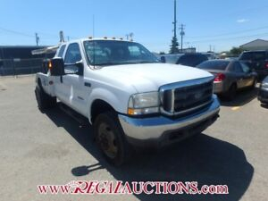 2003 FORD F450 XLT EXT CAB 4WD XLT