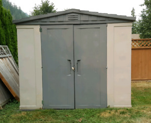 8' x 8' Keter Plastic Shed