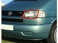 VW Volkswagen T4 Caravelle Transporter Long Nose left side nearside passenger headlight 1996-2003