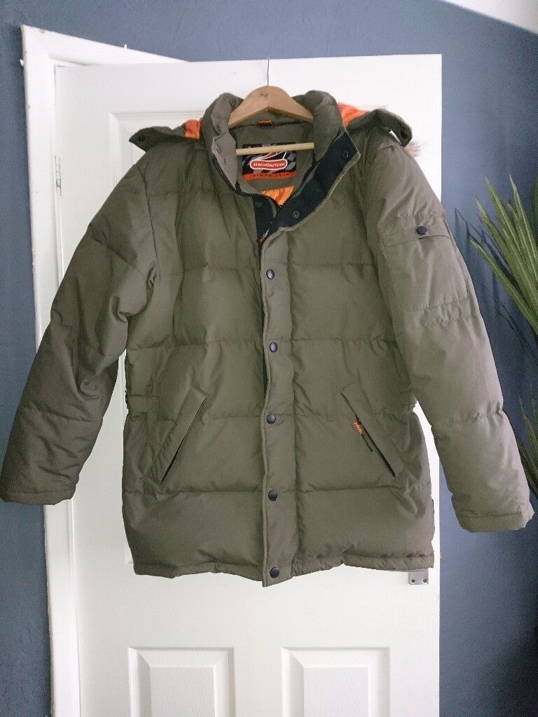 Mens HeinGericke coat, Large
