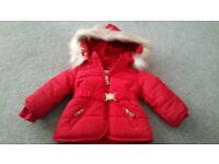 **As new Mayoral girl's winter jacket**
