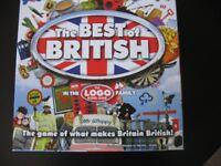 """""""Best of British"""" Board Game"""
