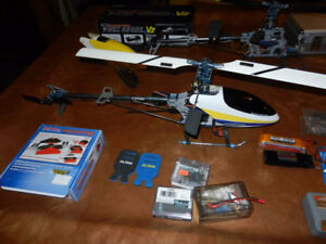 2 x Trex 450 SE Helicopters