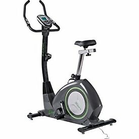exercise bike,good condition, 24 pre set programs, 10 kg flywheel, easy assembly