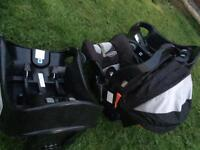 Graco baby car seat, 2 bases & raincover!