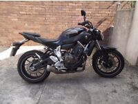 yamaha mt 07 showroom condition,to good to miss