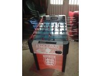 Table football game in excellent condition