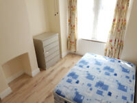 Refurbished double rooms in Gillingham, bills included
