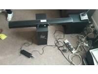 JVC-TH WL515B 2.1 SOUND BAR Speaker with subwoofer