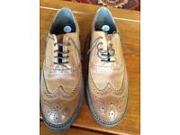 leather Brogues size 7 new
