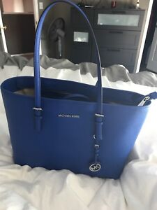 Michael Kors leather large hand bag
