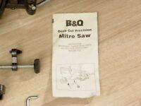 B & Q Mitre Saw