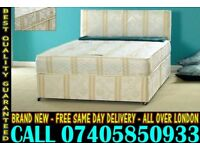 BRAND NEW Double Single King Size Dlvan Bed WITH MATTRESS . North Evans