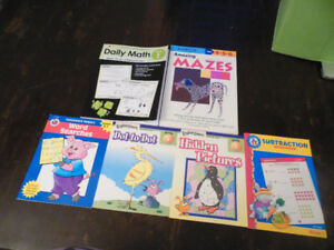 brand new GRADE 1 workbooks