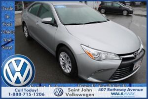2016 Toyota Camry LE $159.23 BI WEEKLY!