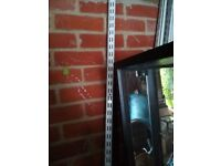 Shelving uprights 7feet 7inches (total of 26 uprights) (2.3 metres)