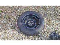 Dunlop car tyre brand new size 165/70R14 skoda fabia