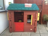 Little tykes log cabin