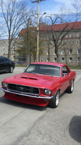 Mustang coupe 1967