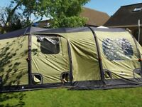 Vango airbeam Infinity 400 with front enclosed canopy