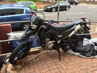 Yamaha wr 125 low mileage 6k £1600 not ktm Honda xr Yamaha