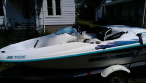 Seadoo boat and trailer
