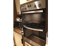 Stylish Zanussi integrated double oven