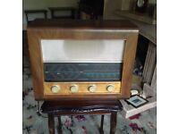 Vintage Bush radio 1950s AC34