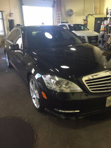 Black! Mint!!! 2010 Mercedes-Benz S-Class 4 matic Only 65,000kms