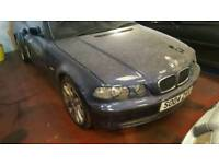 Bmw 318 compact Breaking