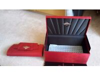 new genuine ghd storage box and storage clutch