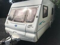Bailey ranger 550/6 2003 model 6 berth touring caravan
